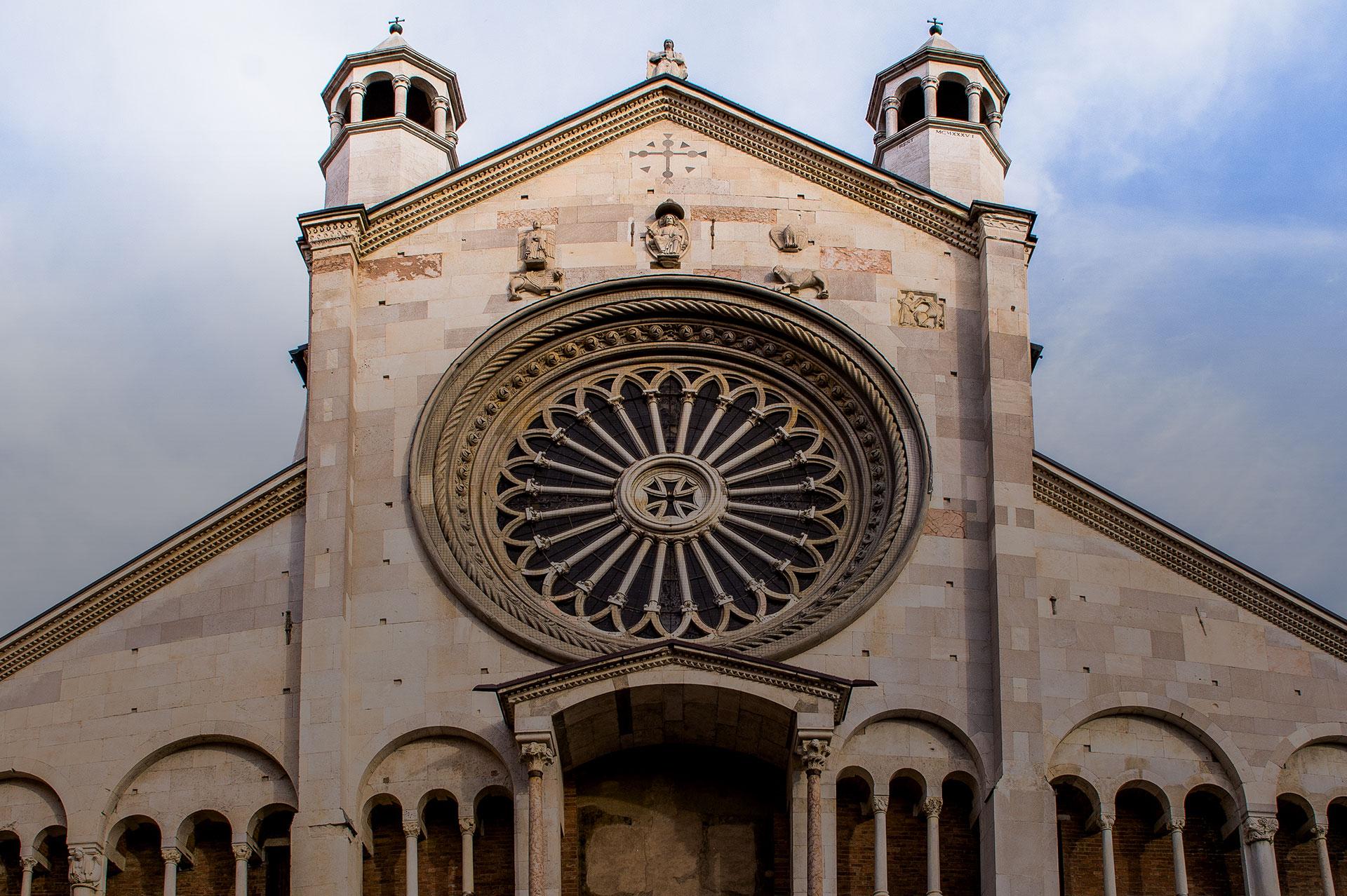Rosone e Facciata Duomo - Musei del Duomo di Modena